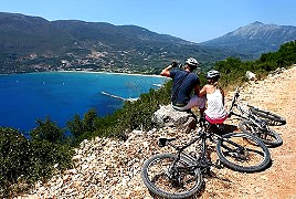 Bicycle hire vassiliki